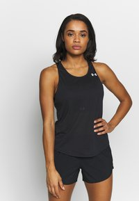 Under Armour - UA STREAKER 2.0 RACER TANK - T-shirt de sport - black - 0