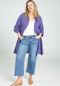Paprika - Button-down blouse - purple - 1