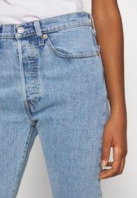 Levi's® - 501 CROP - Jeans slim fit - tango surge - 4