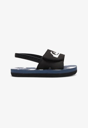 MOLOKAI LAYBACK - Chanclas de baño - black/blue/white