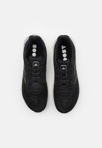 adidas Performance - SUPERNOVA BOOST PRIMEGREEN RUNNING SHOES - Neutrální běžecké boty - core black/grey six/silver metallic - 3