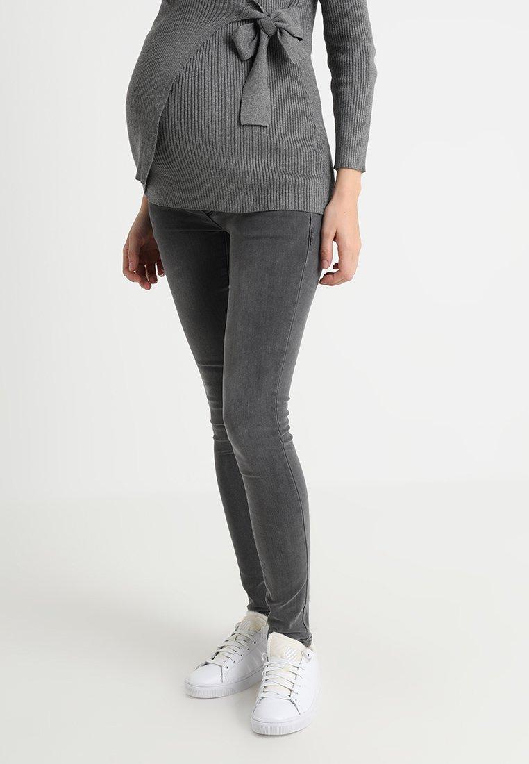 MAMALICIOUS - MLLOLA - Jeans Skinny Fit - grey denim