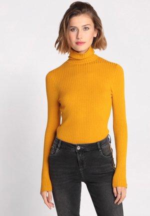Jersey de punto - yellow mustard