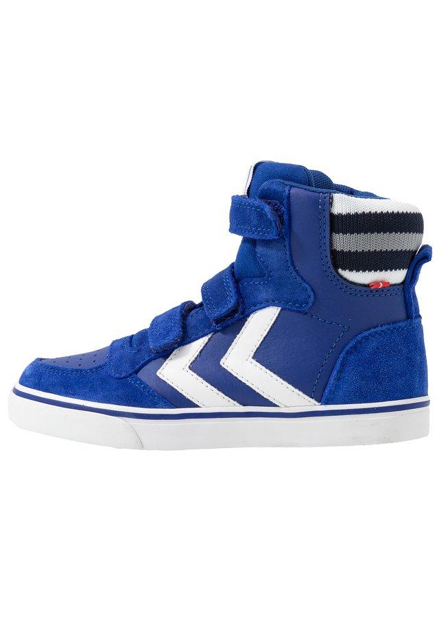 Sneakers hoog - mazarine blue