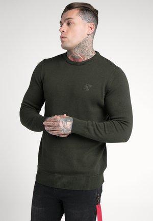 CREW - Pullover - dark green