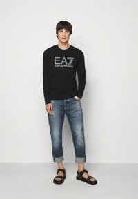 EA7 Emporio Armani - Long sleeved top - black - 1