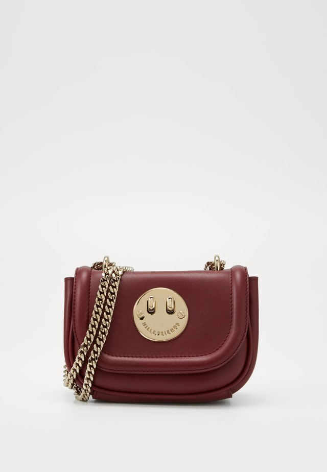 HAPPY TWEENCY CHAIN - Borsa a tracolla - oxblood