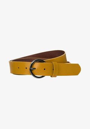 MIT SCHNALLE - Belt - gelb