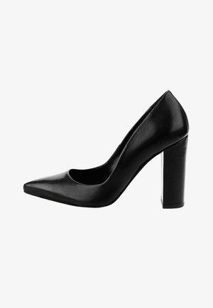 UMBERTIDE - High heels - czarny mat