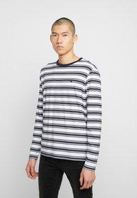 Scotch & Soda - LONGSLEEVE TEE - Långärmad tröja - dark blue/white - 0