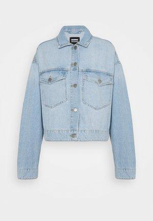 KHALILA CROPPED JACK - Denim jacket - superlight blue