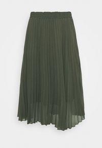 ONLY Carmakoma - CARNEWSARAH CALF SKIRT - A-line skirt - forest night - 1