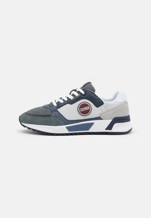 DALTON VICE - Baskets basses - light grey/navy