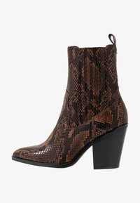 DRERISSA - High heeled ankle boots - brown