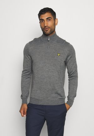 GOLF QUARTER - Jumper - mid grey marl