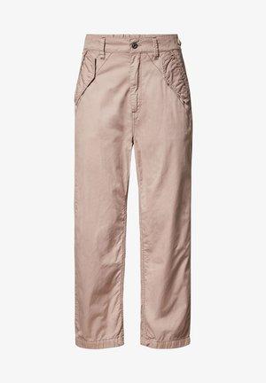 ARMY CITY MID BOYFRIEND STRAIGHT - Trousers - lt skin gd