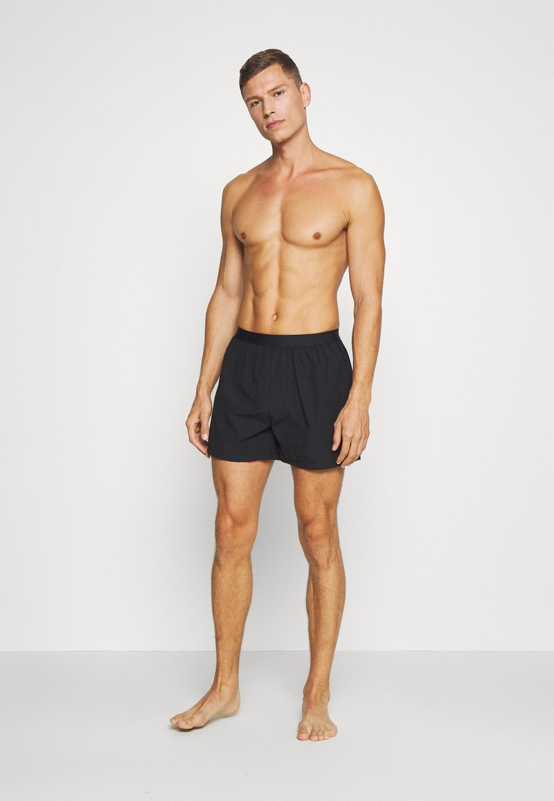 Pier One - 3 PACK - Boxer shorts - black