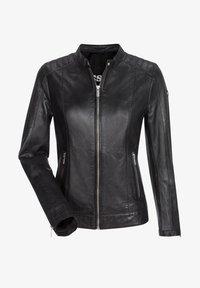 Milestone - Leather jacket - schwarz - 4