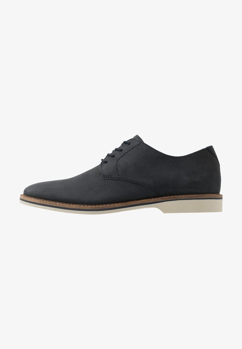 Clarks - ATTICUS LACE - Lace-ups - navy