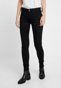 G-Star - LYNN MID SUPER SKINNY  - Jeans Skinny Fit - pitch black - 0