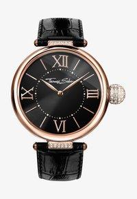 THOMAS SABO - KARMA - Watch - roségoldfarben/schwarz - 0
