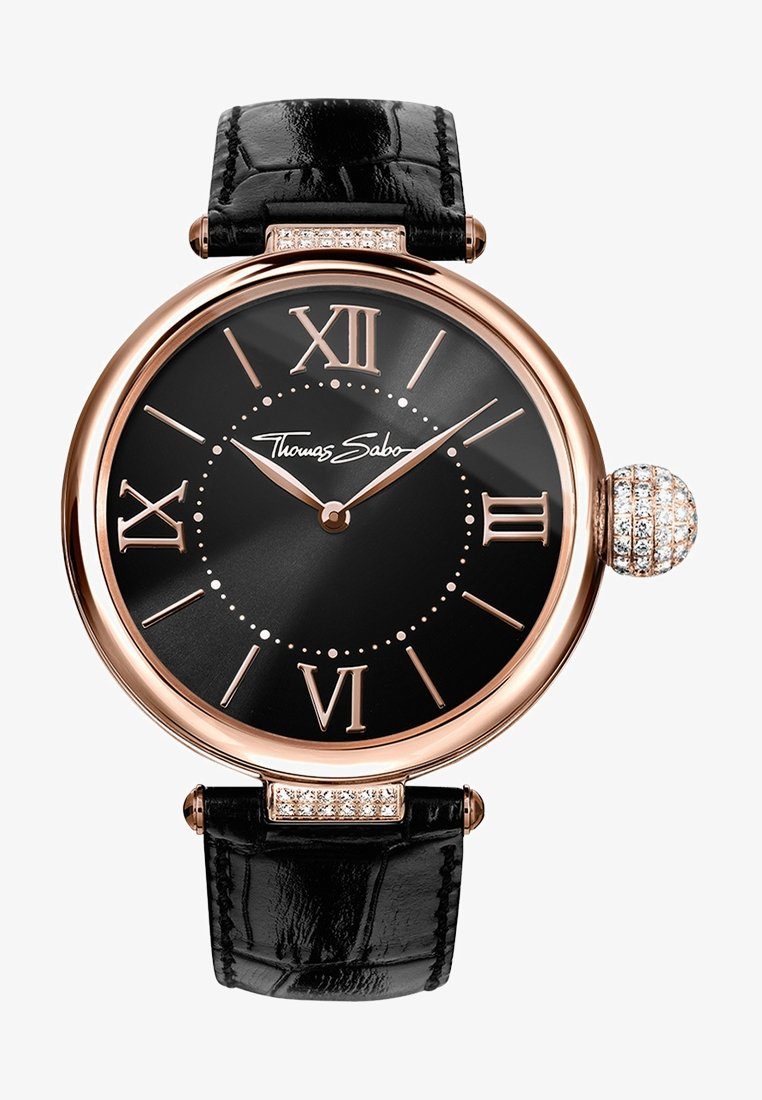 THOMAS SABO - KARMA - Watch - roségoldfarben/schwarz