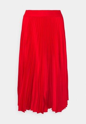 SALWA - Áčková sukně - fiery red