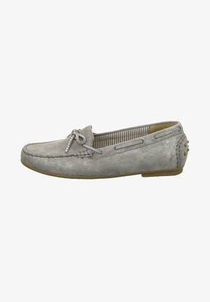 Boat shoes - grau