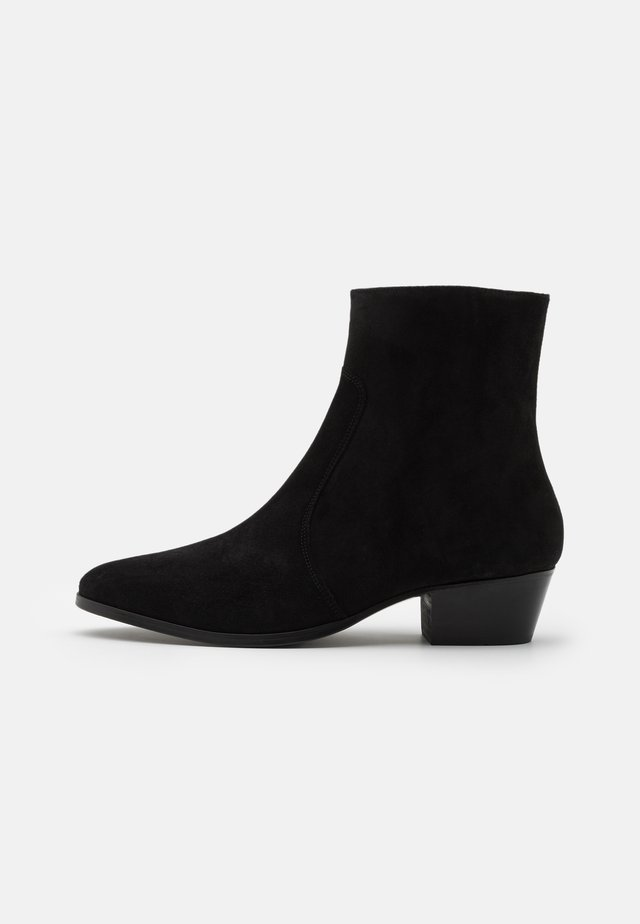 ZIMMERMAN ZIP BOOT - Classic ankle boots - black coffee