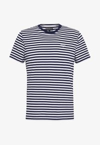Barbour - DELAMERE STRIPE TEE - Print T-shirt - inky blue - 4