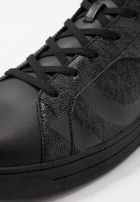Michael Kors - KEATING TOP - Sneakers alte - black - 5