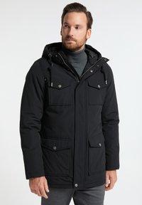 DreiMaster - Winter jacket - schwarz - 0