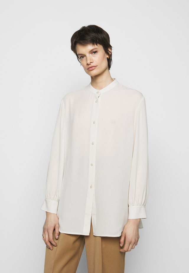 LAYLA BLOUSE - Button-down blouse - ivory