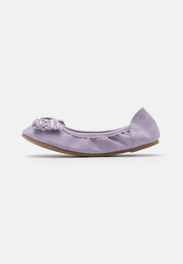 KIDS PRIMO BALLET FLAT - Baleríny - lilac shimmer