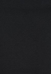 Monki - 2 PACK - Top - black dark/white light - 4