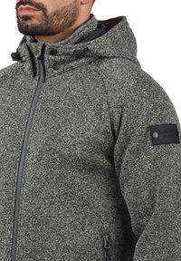 INDICODE JEANS - CHILLINGWORTH - Zip-up hoodie - mottled dark grey - 2