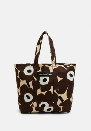 PERUSKASSI PIENI UNIKKO - Tote bag - beige/brown/off white
