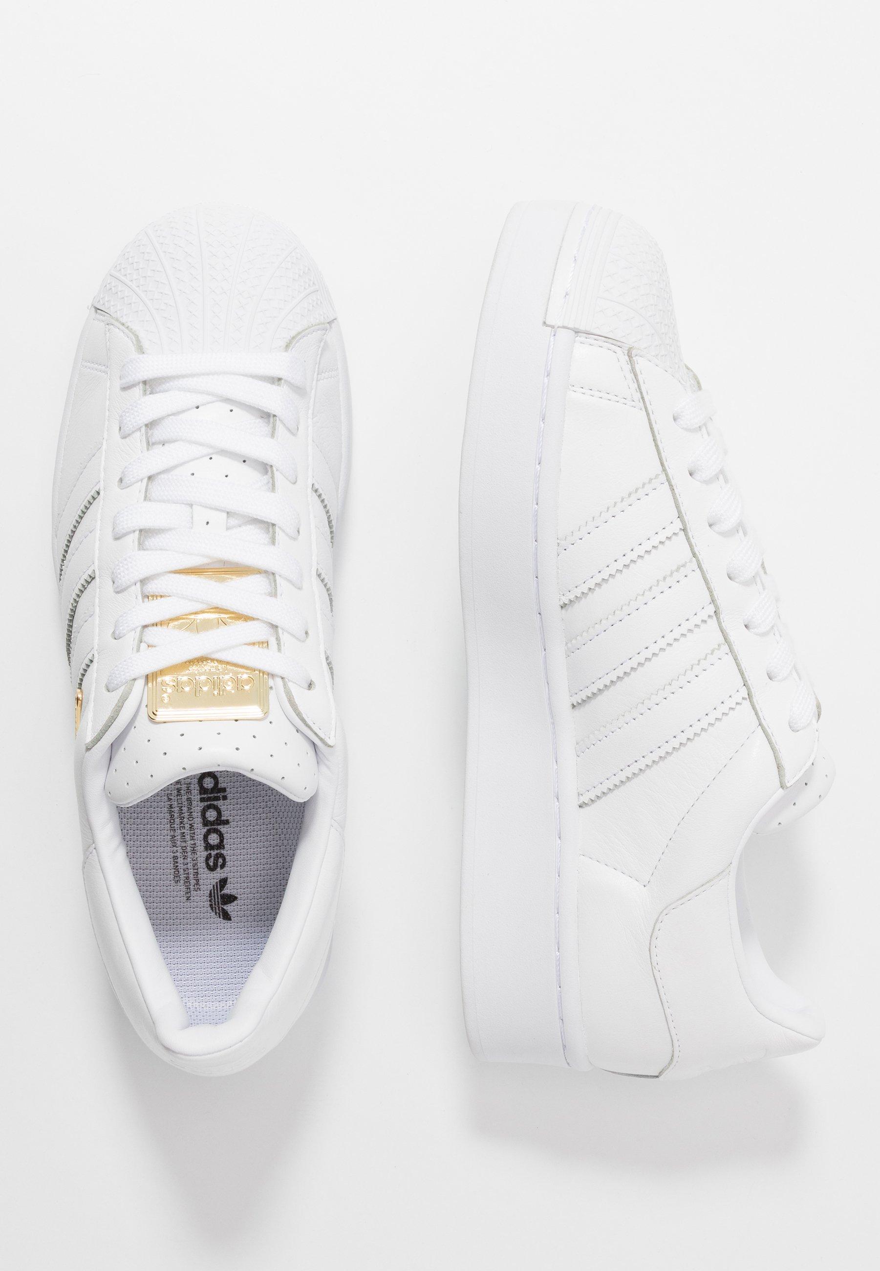 SUPERSTAR BOLD Sneakers footwear whitegold metalliccore black