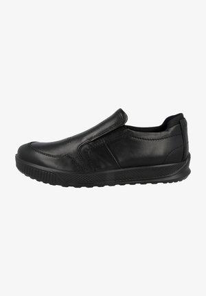 Slip-ons - black-black