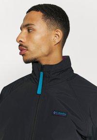 Columbia - FALMOUTH JACKET - Outdoor jacket - black/fjord blue - 3