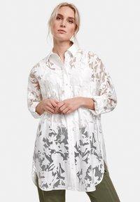 Taifun - Shirt dress - white - 0