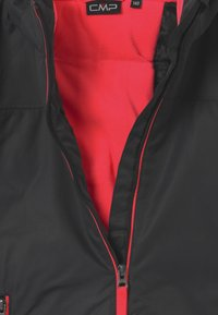CMP - GIRL SNAPS HOOD - Lyžařská bunda - antracite/red fluo - 4