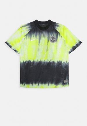 FC - Camiseta estampada - black/volt/white