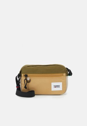 URBAN ESSENTIALS CROSSOVR - Across body bag - khaki