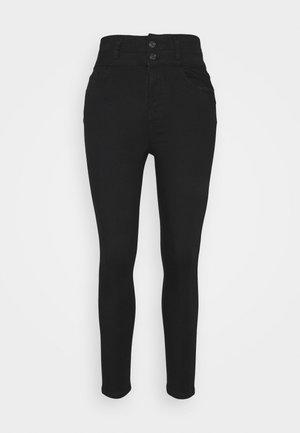 LIFT AND SHAPE HIGHWAIST - Jeans Skinny Fit - black