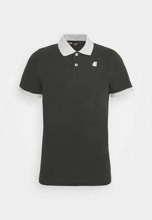 VINCENT UNISEX - Polo shirt - black torba/grey
