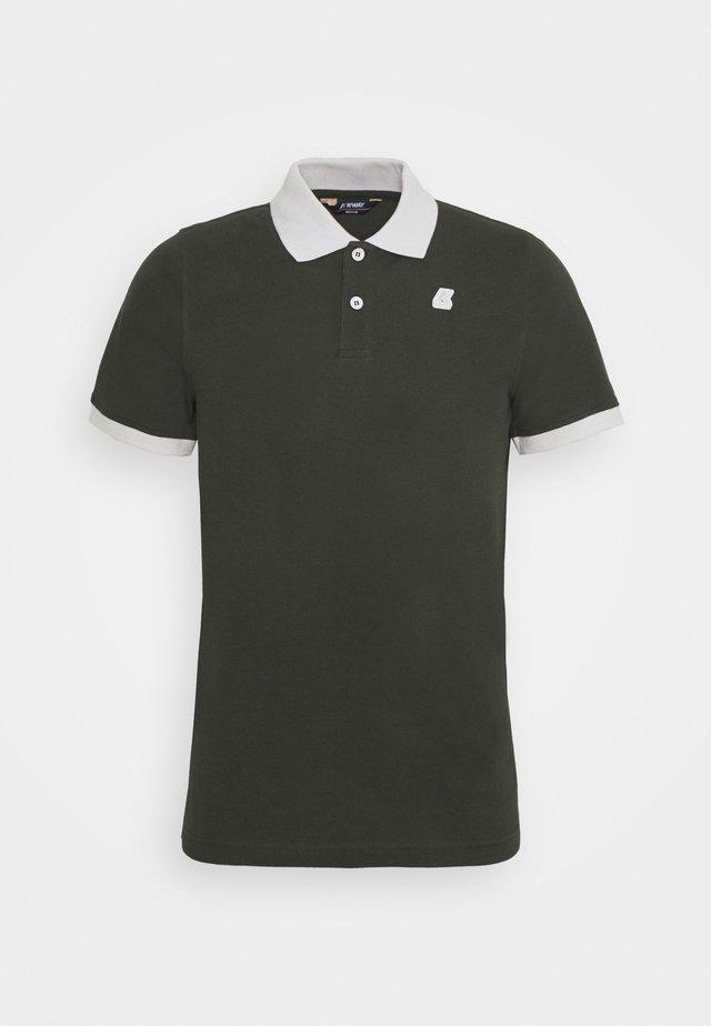 VINCENT UNISEX - Poloshirts - black torba/grey