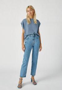 PULL&BEAR - Straight leg jeans - dark blue - 1