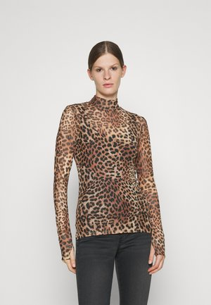DILIONA - Long sleeved top - brown