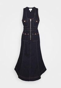 CLUB NOIR DRESS - Denim dress - indigo